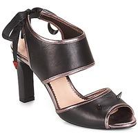 Pantofi Femei Sandale și Sandale cu talpă  joasă André NEVERLAND Negru