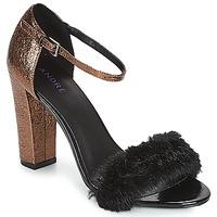 Pantofi Femei Sandale și Sandale cu talpă  joasă André WANDA Negru