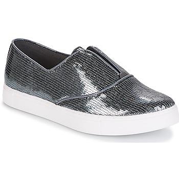 Pantofi Femei Pantofi Slip on André COSMIQUE Argintiu