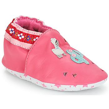 Pantofi Fete Botoșei bebelusi André PERUVIENNE Roz