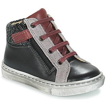 Pantofi Băieți Ghete André CORBEAU Negru