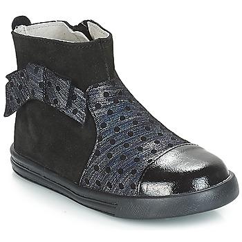 Pantofi Fete Ghete André NUIT Negru