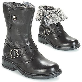Pantofi Fete Ghete André GIBOULEE Negru