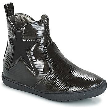 Pantofi Fete Ghete André FURY Negru