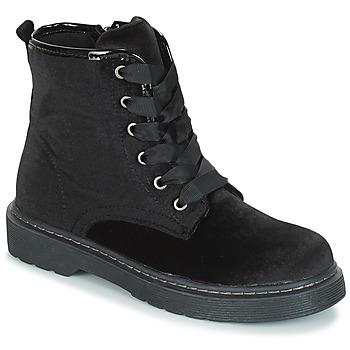 Pantofi Fete Ghete André ROCKABILLY Negru