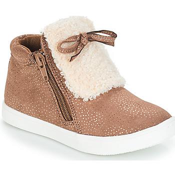 Pantofi Fete Ghete André MOUFLON Bej