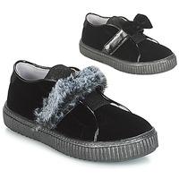 Pantofi Fete Pantofi Slip on André MAMMOUTH Negru