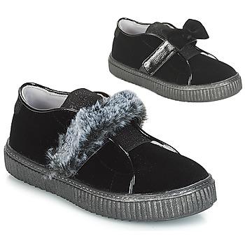 Încăltăminte Fete Pantofi Slip on André MAMMOUTH Negru