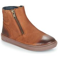 Pantofi Băieți Ghete André CUMIN Maro