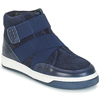 Pantofi Băieți Ghete André CUBE Bleumarin