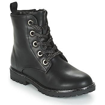 Pantofi Fete Ghete André CLAPTON Negru