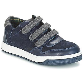Încăltăminte Băieți Pantofi Derby André CARREAU Bleumarin