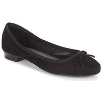 Pantofi Femei Balerin și Balerini cu curea André CINDY Negru