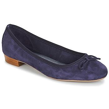 Pantofi Femei Balerin și Balerini cu curea André CINDY Bleumarin