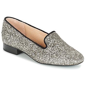 Pantofi Femei Balerin și Balerini cu curea André ATOMIC Argintiu