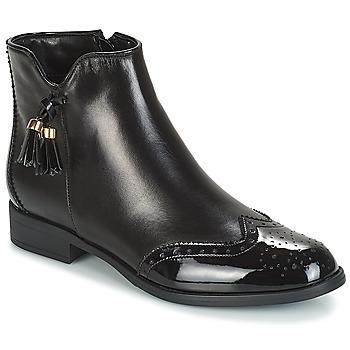 Pantofi Femei Ghete André ALINA Negru