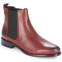 Pantofi Femei Ghete André CARAMEL Roșu
