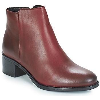 Pantofi Femei Botine André CREDO Roșu