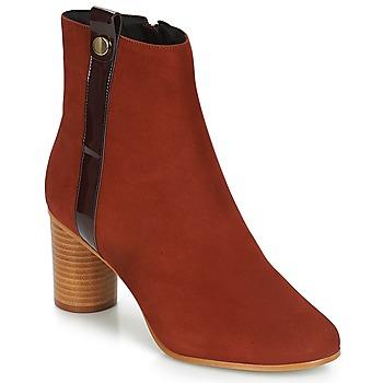 Pantofi Femei Botine André FILO Roșu