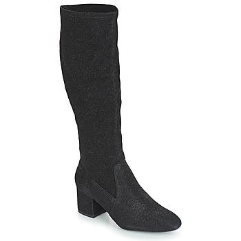 Pantofi Femei Cizme casual André FARFELUE Negru / Paiete