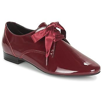 Încăltăminte Femei Pantofi Derby André GOURMANDISE Roșu-bordeaux