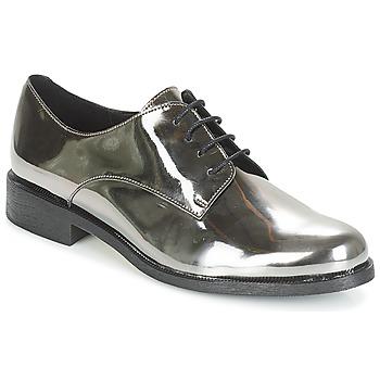 Pantofi Femei Pantofi Derby André LOUKOUM Argintiu