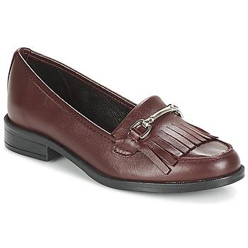 Pantofi Femei Mocasini André TYRI Roșu-bordeaux