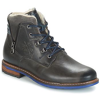 Pantofi Bărbați Ghete André GUINEE Negru