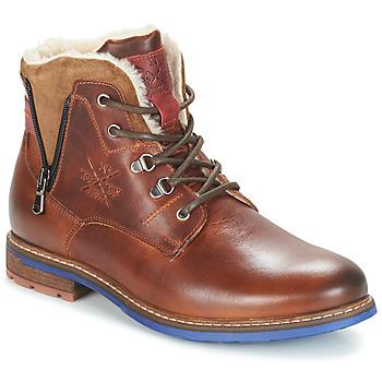 Pantofi Bărbați Ghete André GUINEE Maro