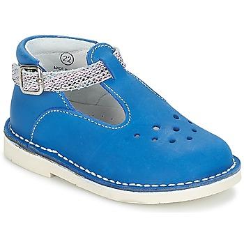 Pantofi Fete Balerin și Balerini cu curea André LE SABLIER Albastru