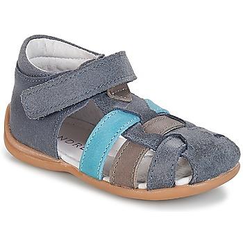 Pantofi Băieți Sandale  André LES PRALINES Albastru