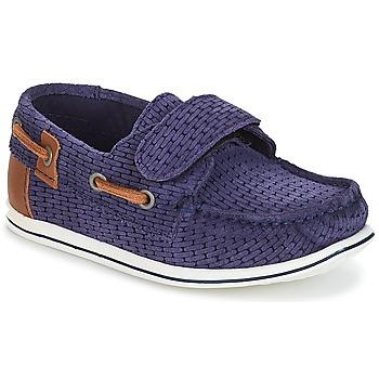 Pantofi Băieți Pantofi barcă André LES CAILLOUX Albastru