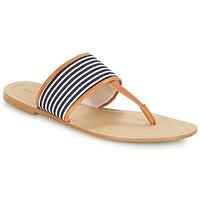 Pantofi Femei  Flip-Flops André JERSEY Dungat / Albastru