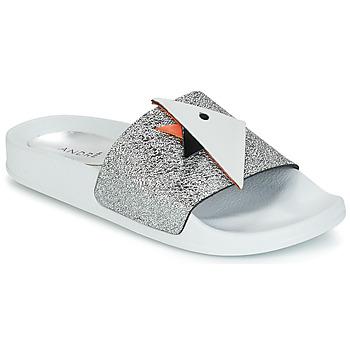 Pantofi Femei Sandale  André SWIMMING Argintiu