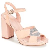 Pantofi Femei Sandale și Sandale cu talpă  joasă André KISS KISS Nude