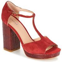 Pantofi Femei Sandale  André TORRIDE Roșu