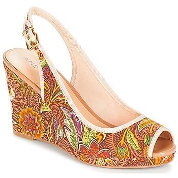 Pantofi Femei Sandale și Sandale cu talpă  joasă André JULIETTA Taupe