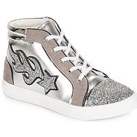 Pantofi Femei Pantofi sport stil gheata André LOTUS Argintiu