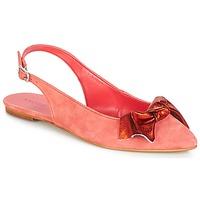 Pantofi Femei Balerin și Balerini cu curea André LARABEL Roz