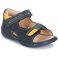 Pantofi Băieți Sandale și Sandale cu talpă  joasă André VOYAGE Bleumarin
