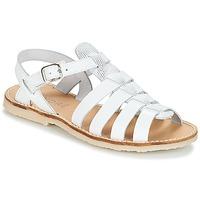 Pantofi Fete Sandale și Sandale cu talpă  joasă André CANDIE Alb