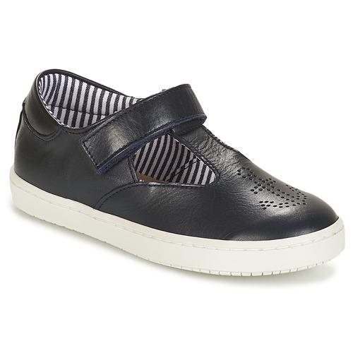 Pantofi Fete Balerin și Balerini cu curea André ANCRAGE Negru
