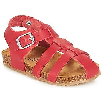 Pantofi Băieți Sandale  André AVIRON Roșu