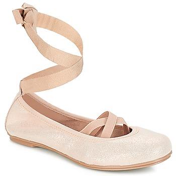 Pantofi Fete Balerin și Balerini cu curea André ELEANOR Roz
