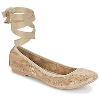 Pantofi Femei Balerin și Balerini cu curea André ACTEE Taupe