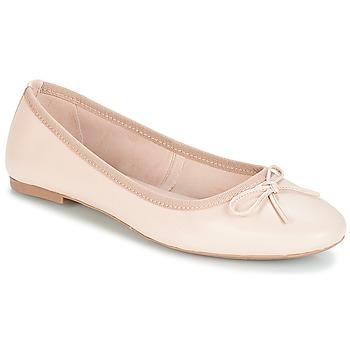 Pantofi Femei Balerin și Balerini cu curea André PIETRA Bej
