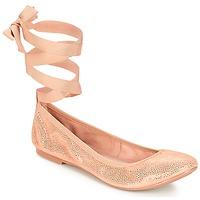 Pantofi Femei Balerin și Balerini cu curea André ACTEE Roz