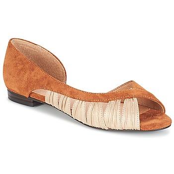 Pantofi Femei Sandale și Sandale cu talpă  joasă André PIPA Camel