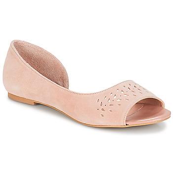 Pantofi Femei Balerin și Balerini cu curea André HELIA Roz