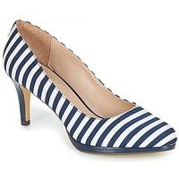 Pantofi Femei Pantofi cu toc André CRYSTAL Dungat / Albastru